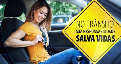 """Semana Nacional do Trânsito   Setembro traz a reflexão: """"Pedestre e ciclista: ver e ser visto"""""""