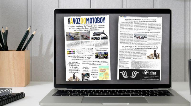"""""""A Voz do Motoboy"""" 127   Edição destaca importância da criação de políticas de segurança"""