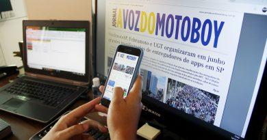 Edição 118 do Jornal A Voz do Motoboy. Ações do Sindicato em 2020 são destaque!