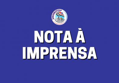 """SindimotoSP não compactua com atos """"pró-Governo"""" e não participará de manifesto do dia 12/6"""