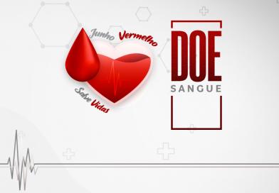 JUNHO VERMELHO   Doar sangue é um ato de amor. Atitude que salva vidas!