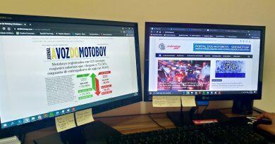 A Voz do Motoboy   Diferença do reajuste entre Entregador CLT e de aplicativos é destaque da vez
