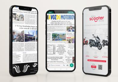 """Leia todas as edições do Jornal """"A Voz do Motoboy"""" no seu celular agora mesmo!"""